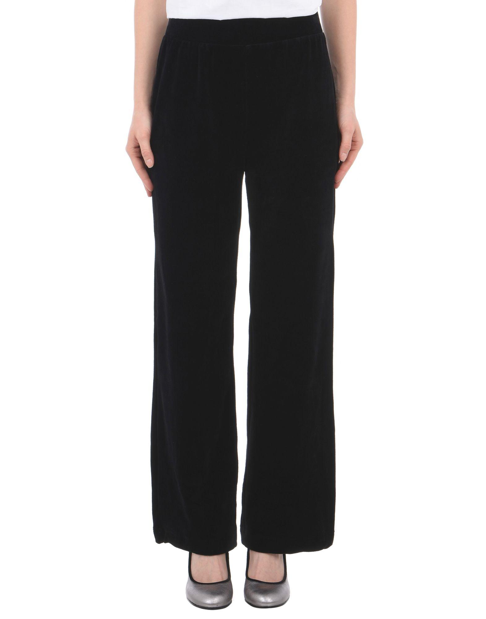 《送料無料》MOSS COPENHAGEN レディース パンツ ブラック S コットン 65% / ポリエステル 35% Laina Rye Pants