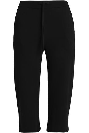 MAJESTIC FILATURES Cropped stretch-jersey straight-leg pants