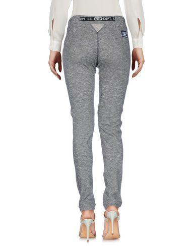 SUPERDRY Damen Hose Grau Größe S 70% Baumwolle 20% Polyester 10% Viskose