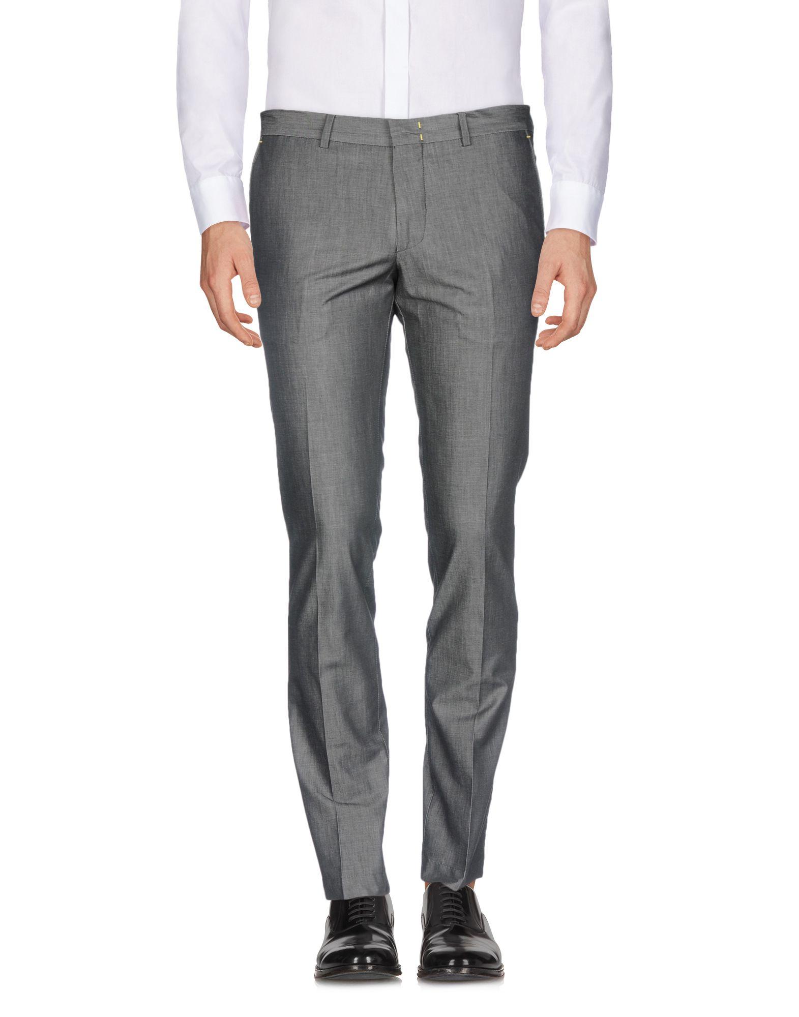 《送料無料》MANUEL RITZ メンズ パンツ 鉛色 44 コットン 100%