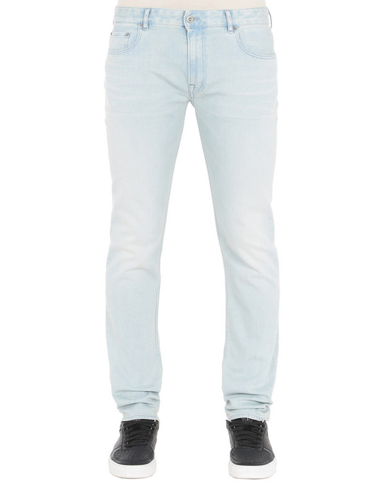 STONE ISLAND Pantalon en jean J2ZN8 SK_BLEACH