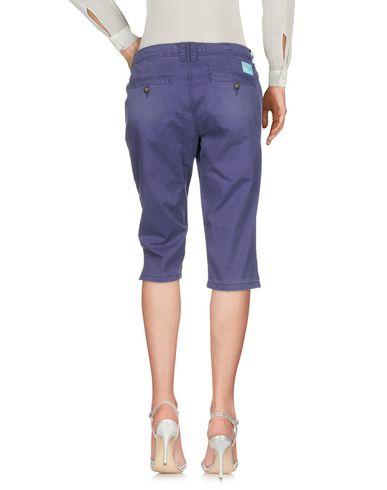 SUPERDRY Damen Caprihose Violett Größe XS 98% Baumwolle 2% Elastan