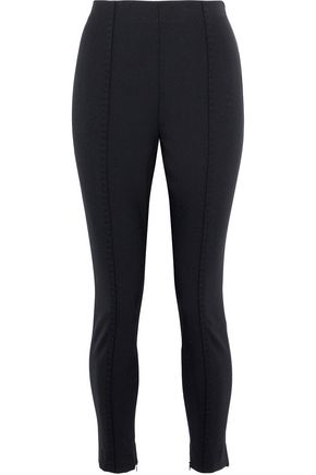 ALEXANDER WANG Cropped stretch-twill skinny pants
