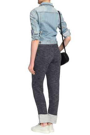 SEE BY CHLOÉ Mélange terry track pants