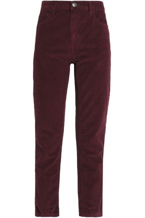 CURRENT/ELLIOTT The Fling corduroy slim-leg pants