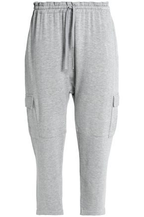 BAILEY 44 Mélange stretch-Tencel jersey track pants