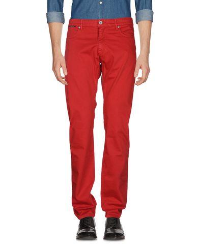 Фото 2 - Повседневные брюки от BROOKSFIELD кирпично-красного цвета