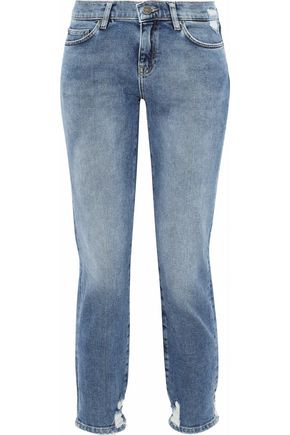 M.I.H JEANS Tomboy distressed boyfriend jeans