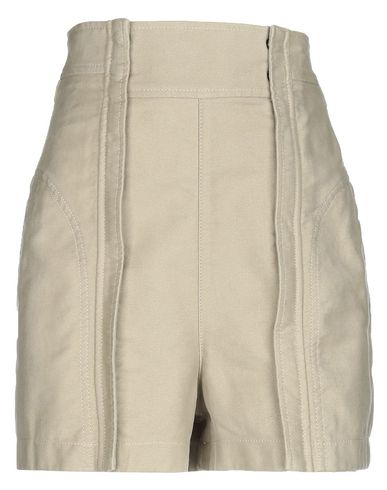 Фото - Повседневные шорты от CHLOÉ светло-зеленого цвета