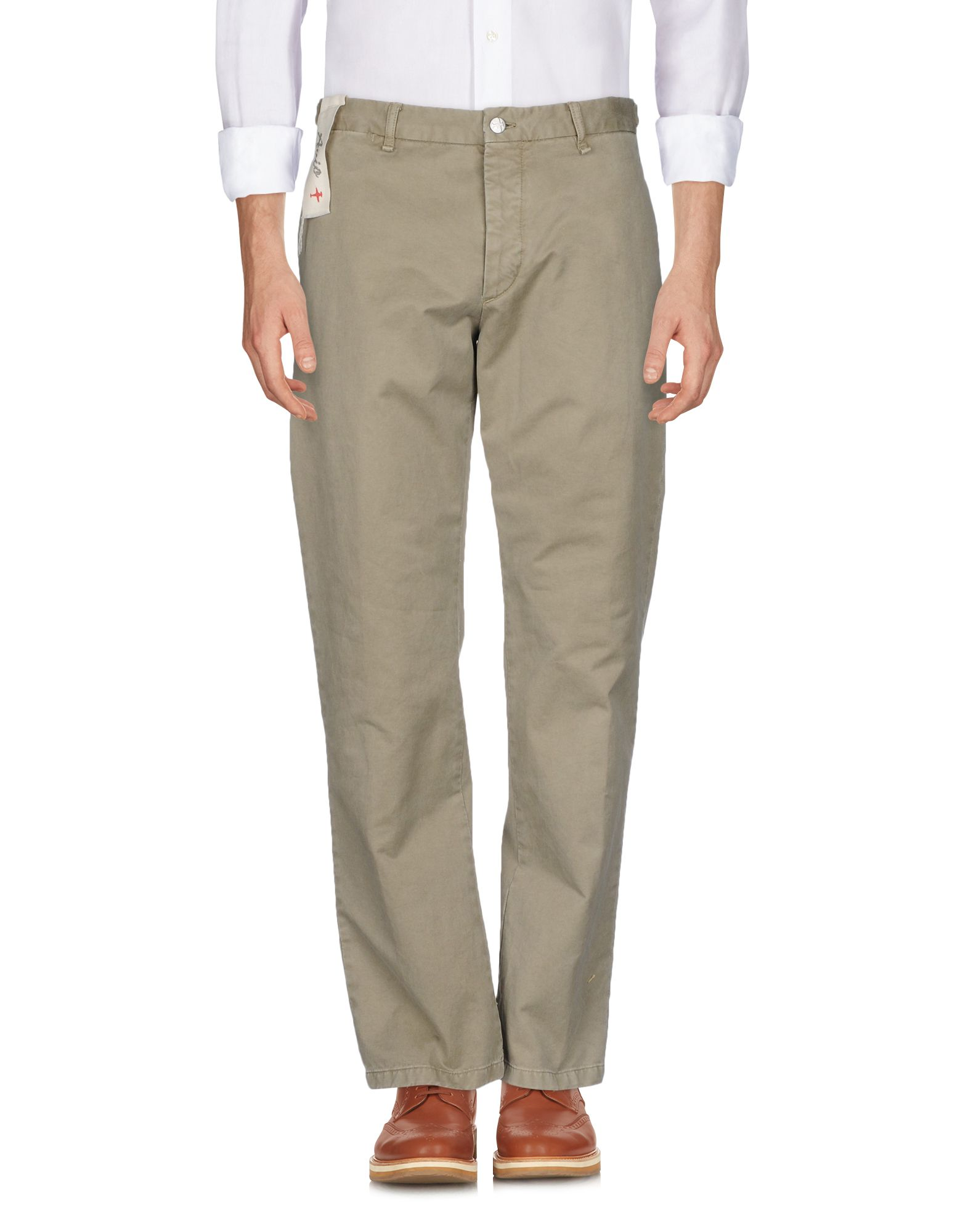 《送料無料》AVIO メンズ パンツ サンド 52 コットン 100%