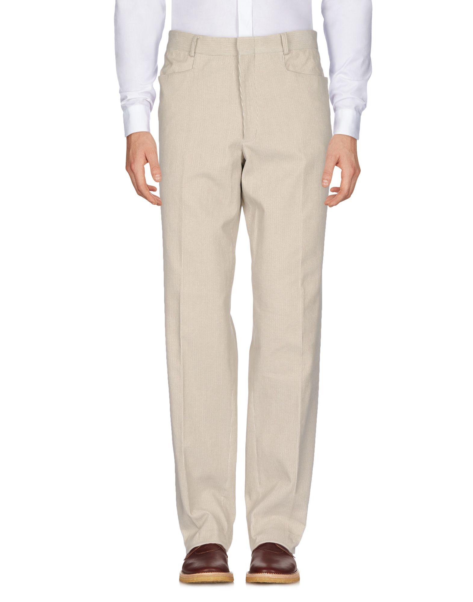《セール開催中》JEY COLE MAN メンズ パンツ アイボリー 52 コットン 100%