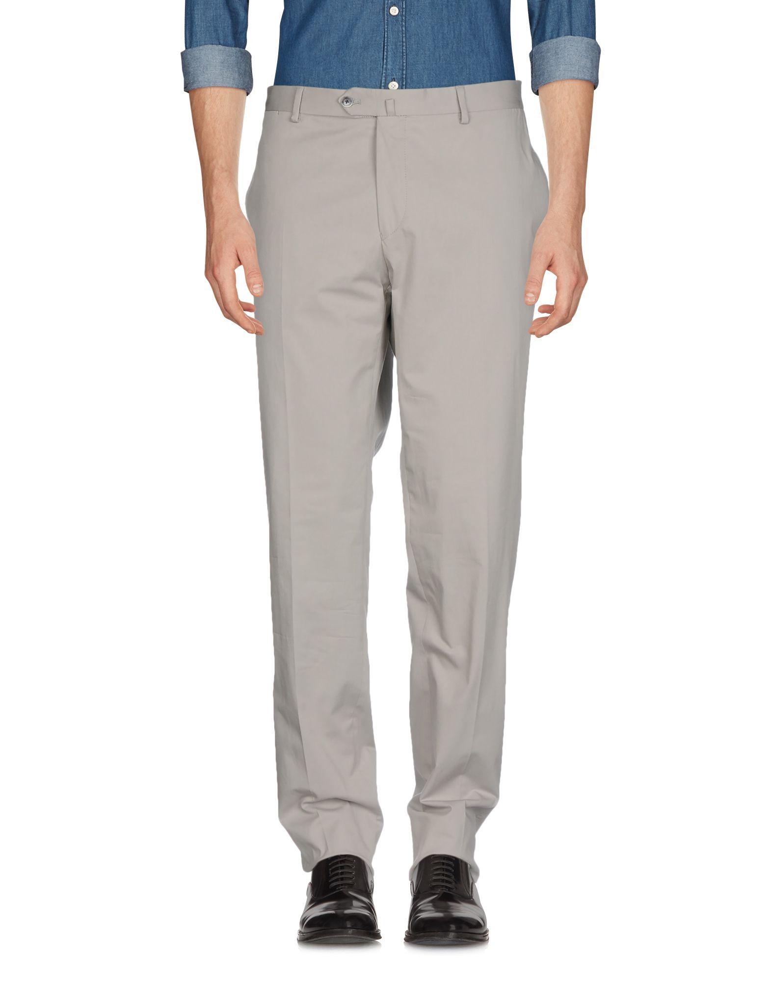 《セール開催中》HACKETT メンズ パンツ グレー 31 コットン 98% / ポリウレタン 2%