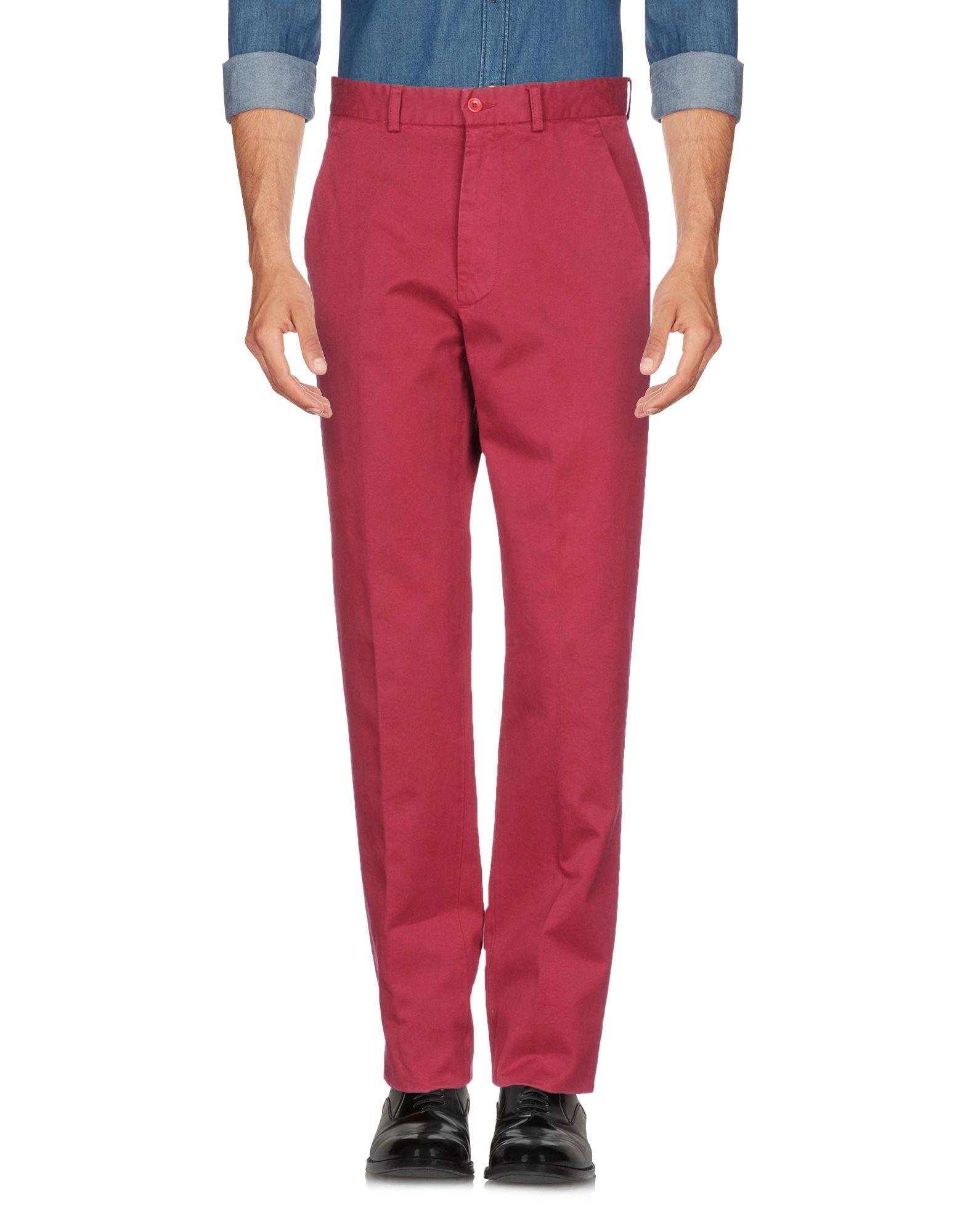 《セール開催中》JEY COLE MAN メンズ パンツ ボルドー 46 コットン 100%