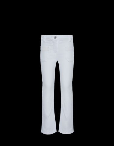 MONCLER CASUAL TROUSER - Formal trousers - women