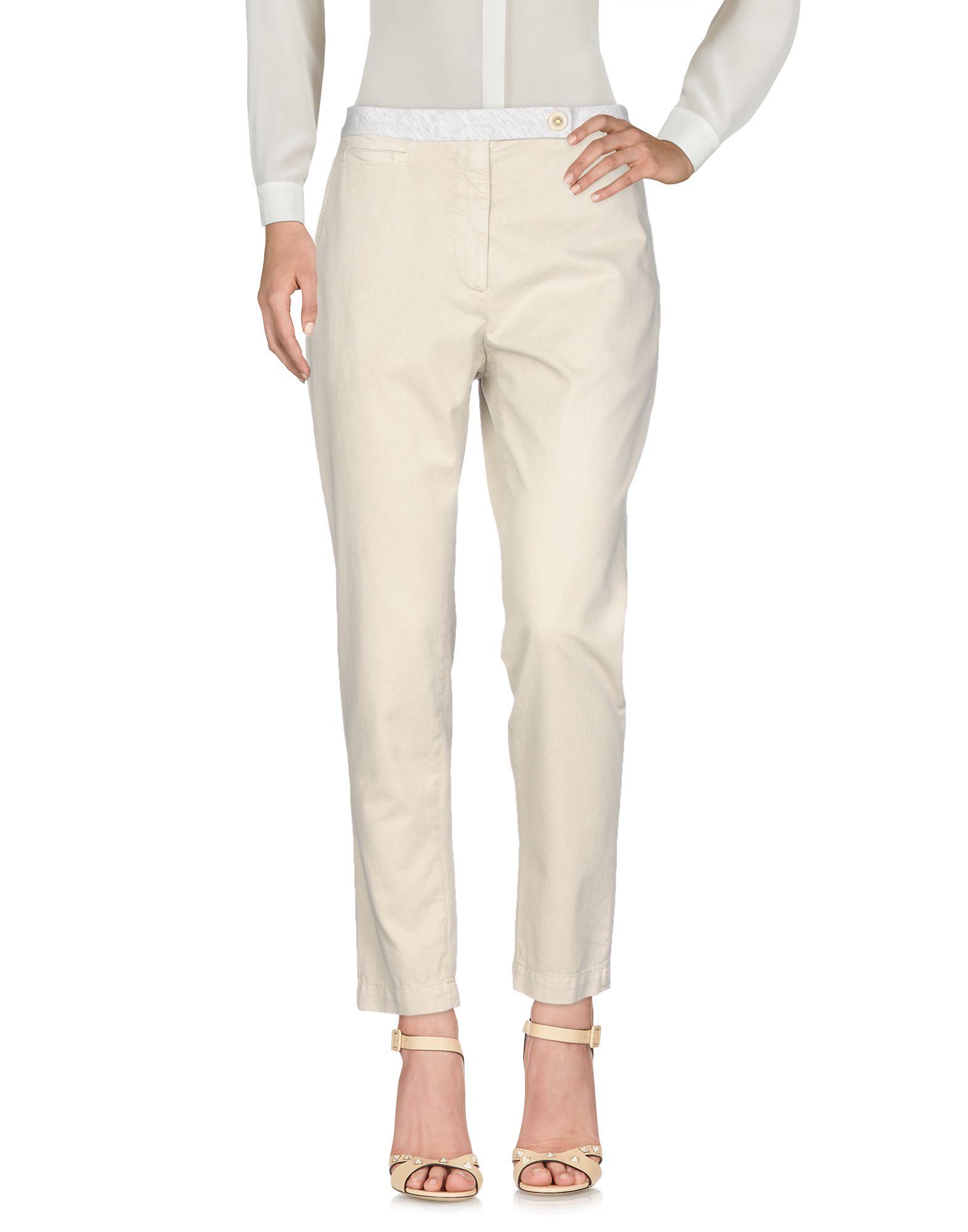 BRUNELLO CUCINELLI Повседневные брюки принтер hp color laserjet pro m452dn лазерный цвет белый [cf389a]
