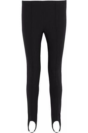 VINCE. Stretch-knit tapered stirrup pants