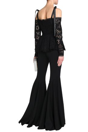 ALEXIS Ambrosio wool-blend flared pants