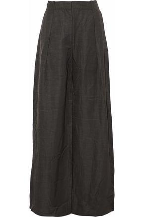 TOMAS MAIER Pleated woven wide-leg pants
