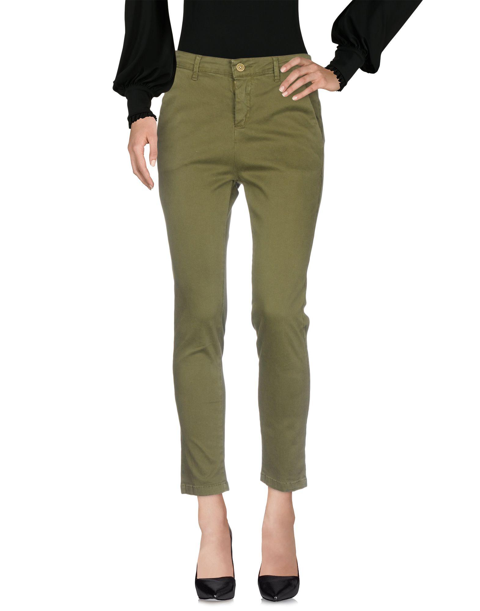 SILVIAN HEACH Повседневные брюки брюки и капр