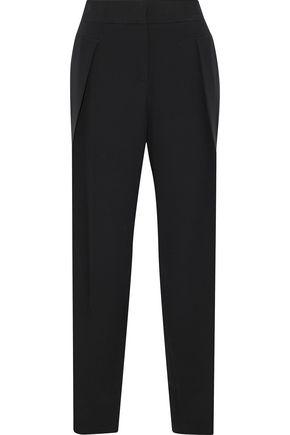 GIORGIO ARMANI Silk tapered pants