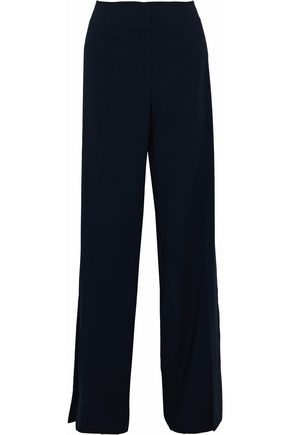GIORGIO ARMANI Wool-twill wide-leg pants
