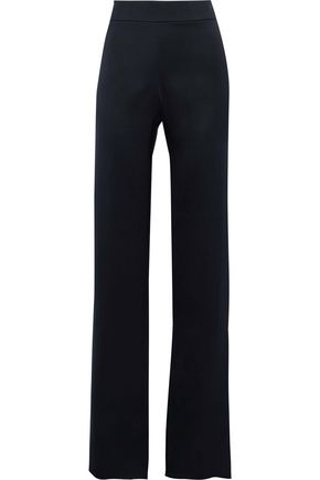 GIORGIO ARMANI Silk-satin wide-leg pants