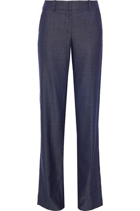 GIORGIO ARMANI Wool-blend flared pants