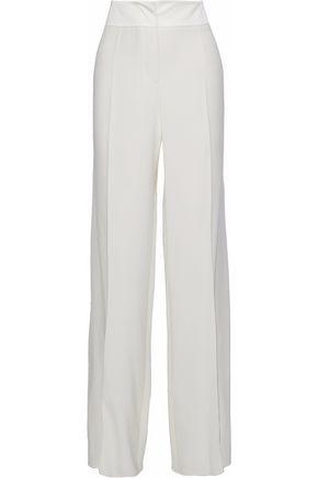GIORGIO ARMANI Silk wide-leg pants