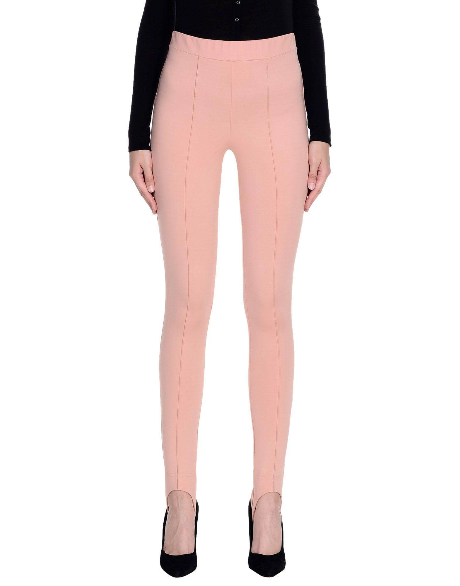 MARNI Leggings. Jersey No appliqués Solid color High waisted Slim fit Tapered leg Elasticized waist No pockets Stretch pants Large sized. 67% Viscose, 26% Polyamide, 7% Elastane