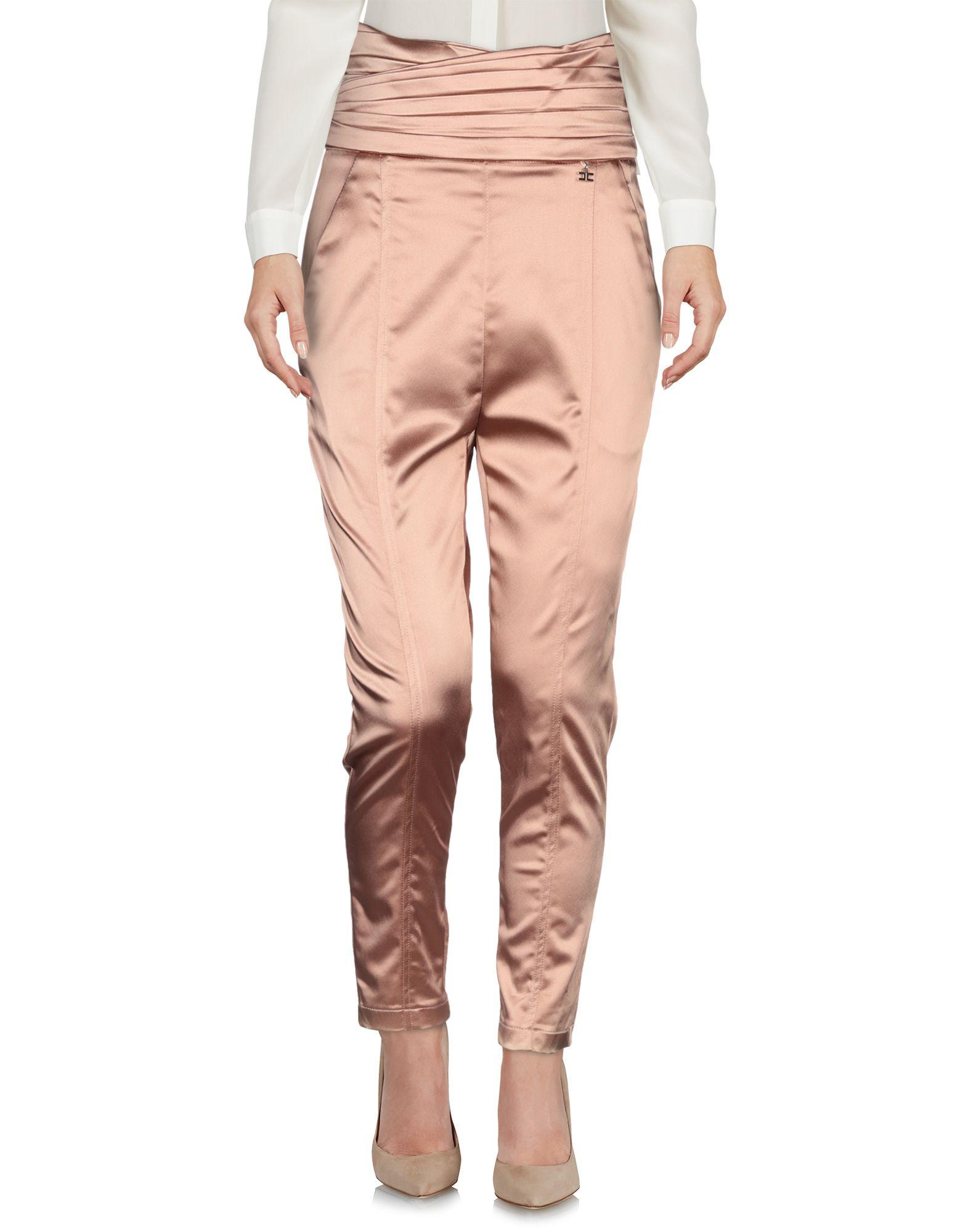 ELISABETTA FRANCHI Повседневные брюки футболка wearcraft premium slim fit printio russia rule типа стрэйч