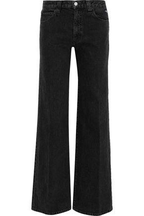 J BRAND Jane mid-rise straight-leg jeans