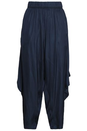 HALSTON HERITAGE Voile wide-leg pants
