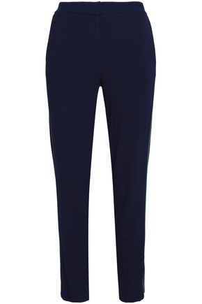 HALSTON HERITAGE Jersey slim-leg pants