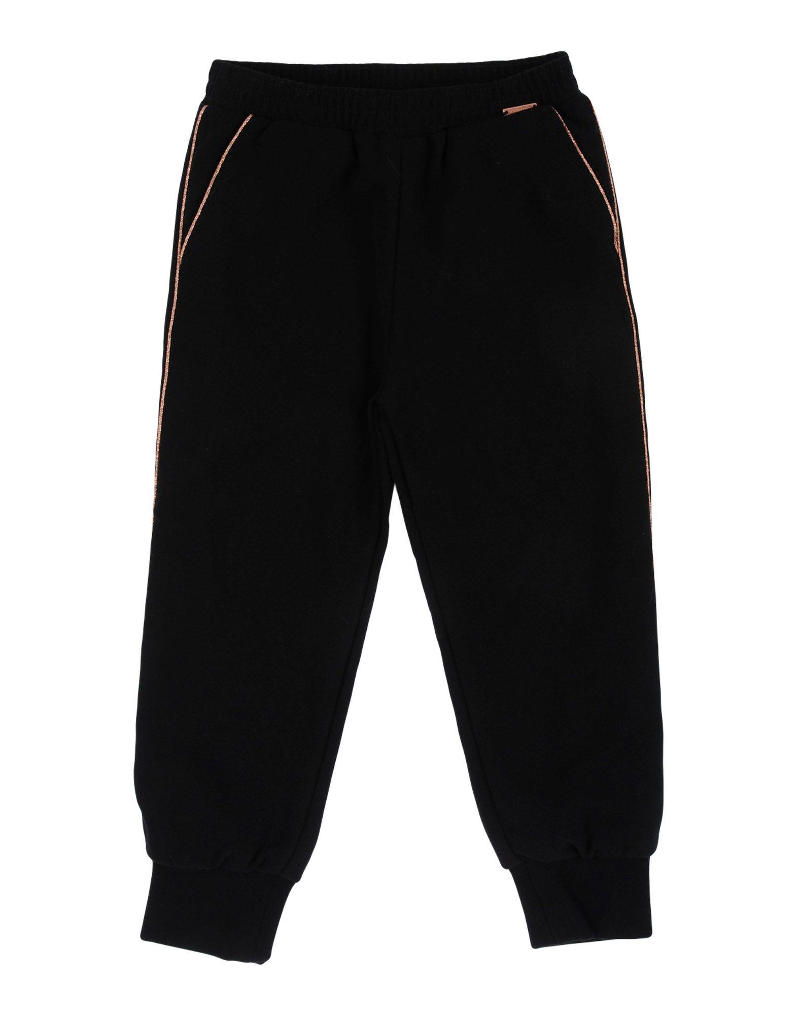 JUNIOR GAULTIER Casual Pants in Black