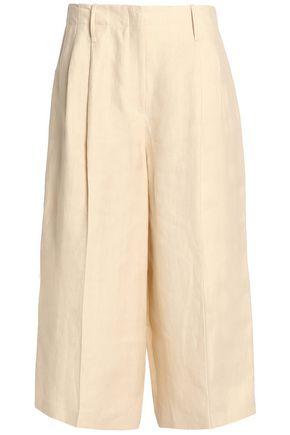 JOSEPH Linen-twill culottes