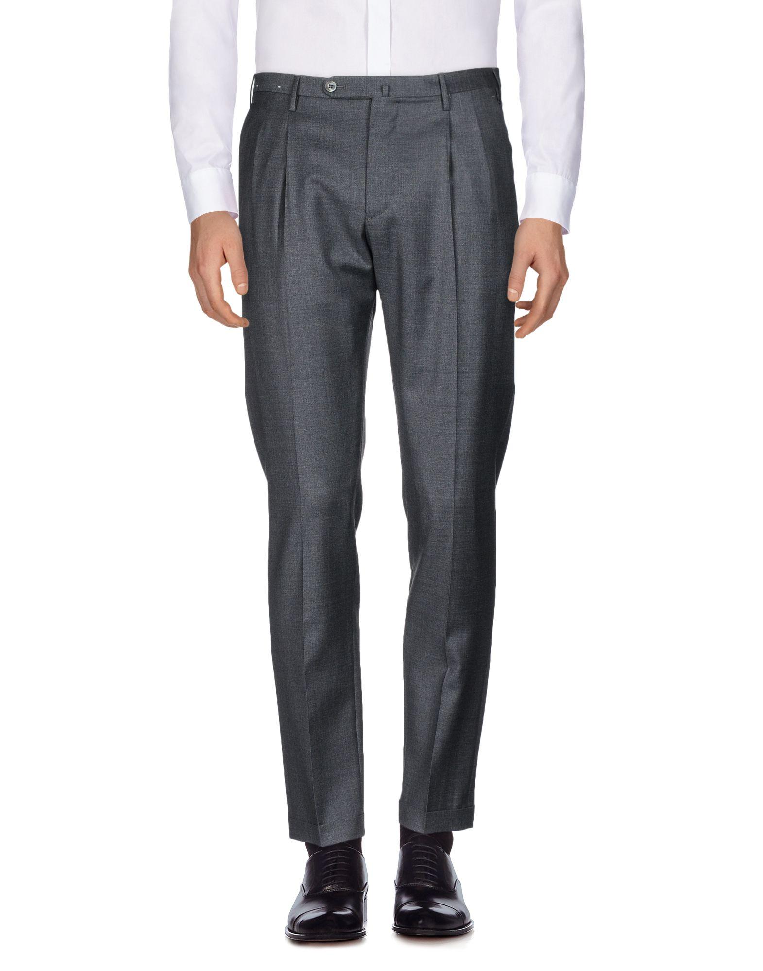 《送料無料》GTA IL PANTALONE メンズ パンツ スチールグレー 48 ウール 100%