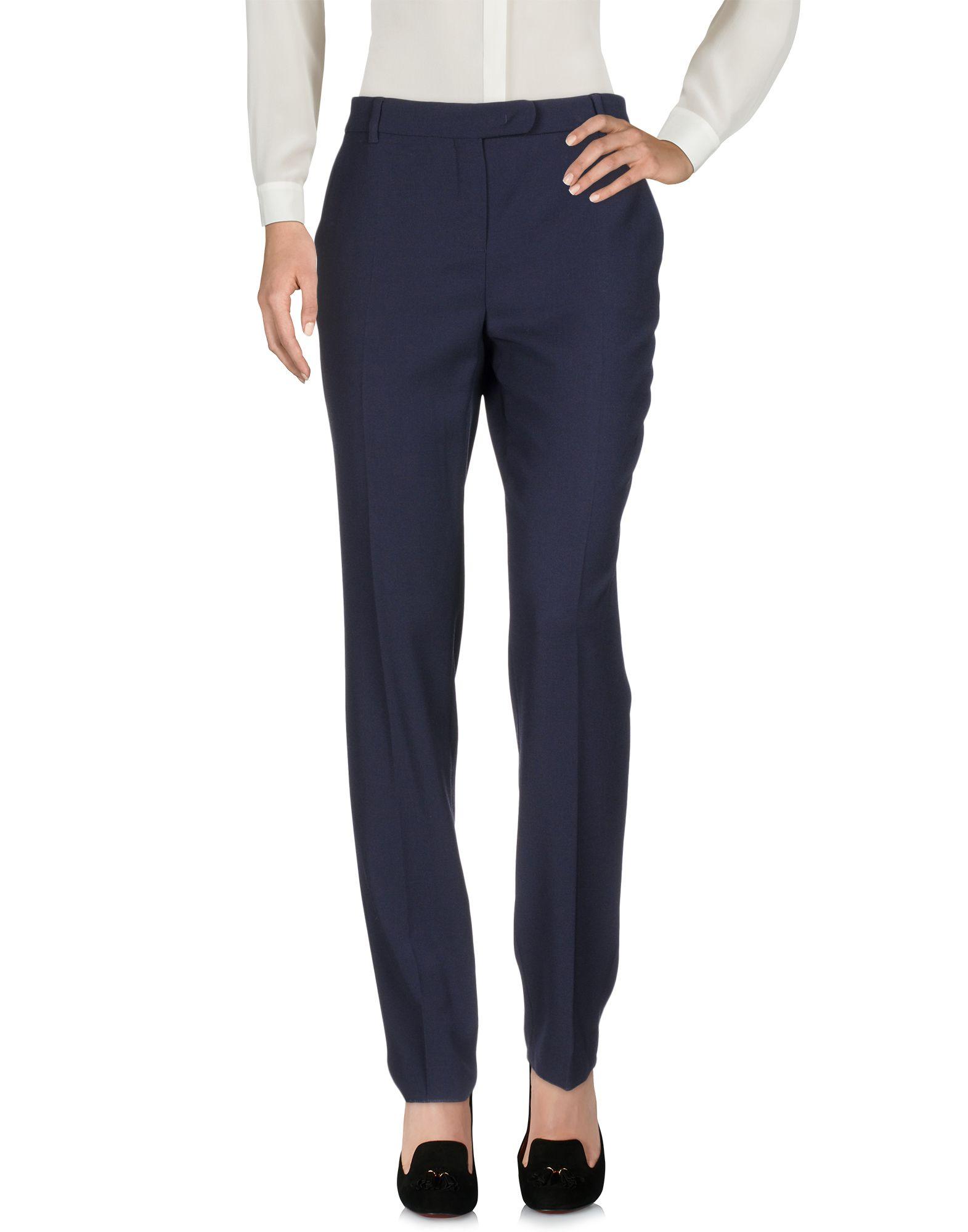 MAX MARA STUDIO Повседневные брюки прямые брюки с принтом max mara брюки с карманами
