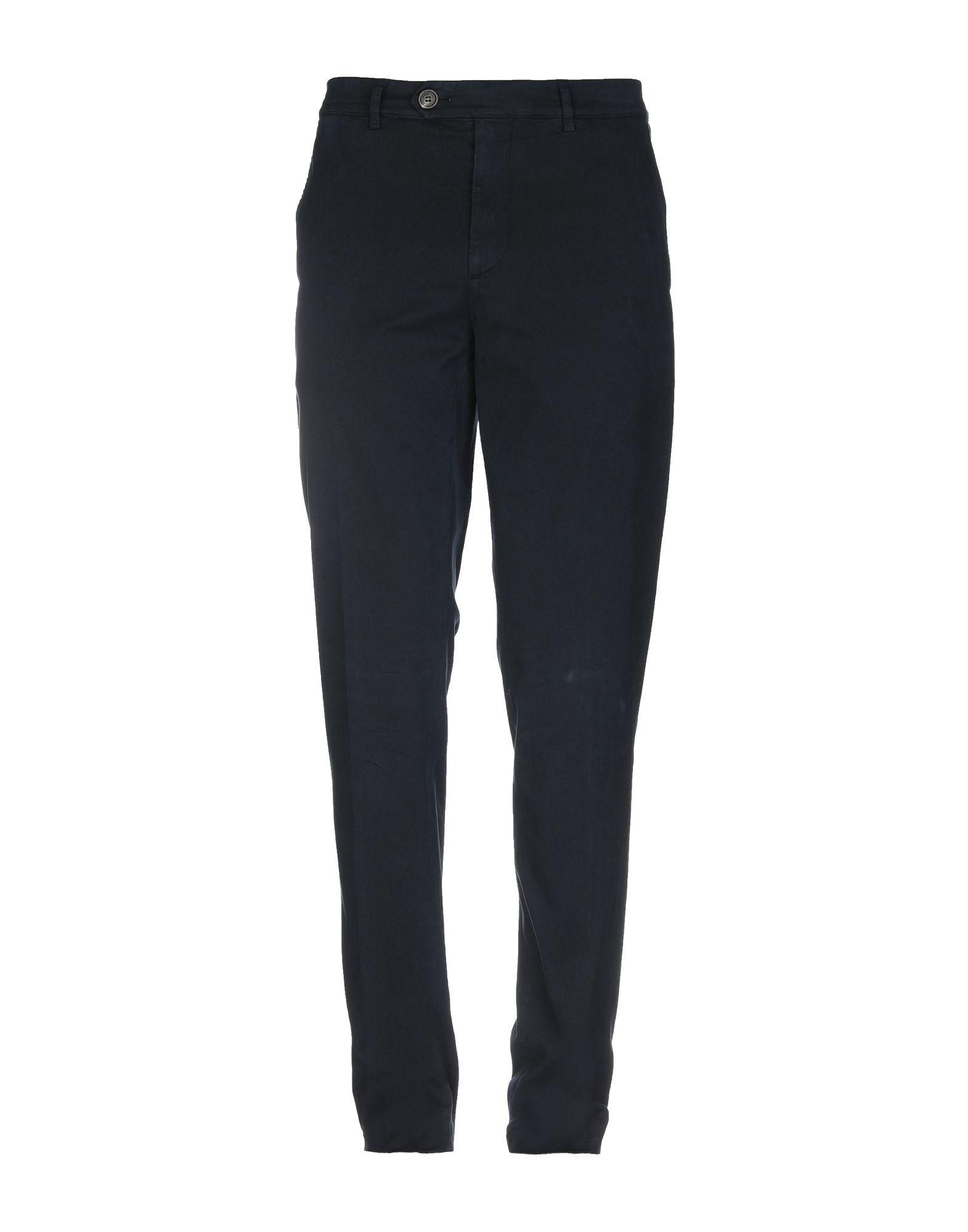 BRUNELLO CUCINELLI Casual pants. gabardine, no appliqués, basic solid color, mid rise, regular fit, straight leg, button, zip, multipockets, stretch, chinos. 97% Cotton, 3% Elastane