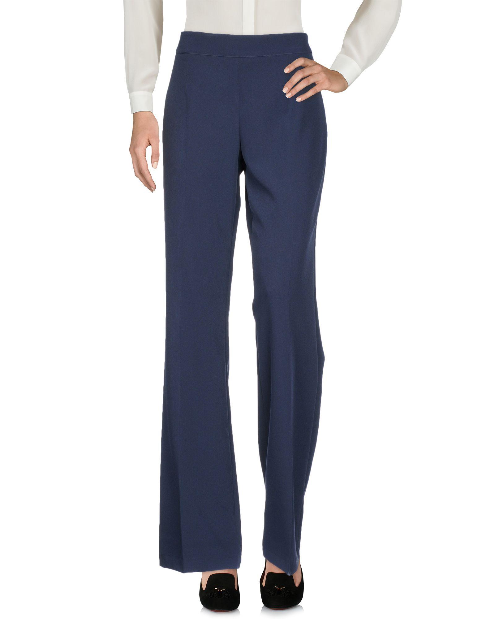 DONNA GI Повседневные брюки брюки viaggio donna цвет синий