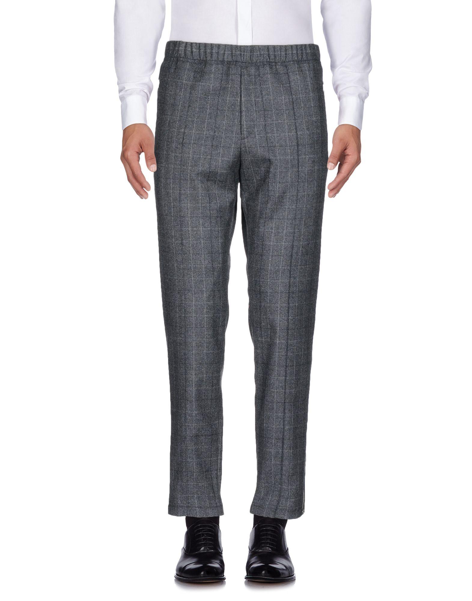 《送料無料》STELLA McCARTNEY メンズ パンツ 鉛色 46 100% ウール