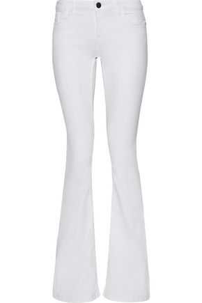 ALICE+OLIVIA Mid-rise flared jeans