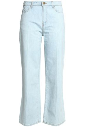 VALENTINO Mid-rise straight-leg jeans
