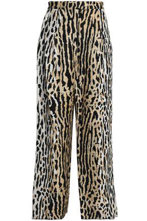 VALENTINO Jacquard wide-leg pants