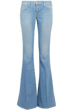 L'AGENCE Mid-rise flared jeans