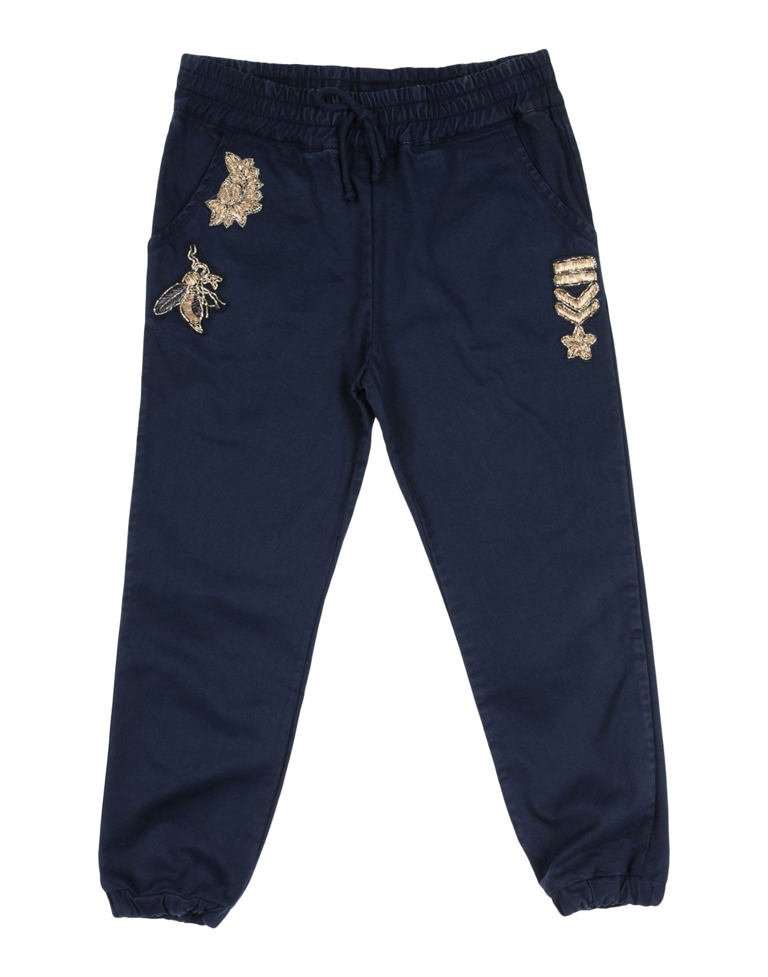 ERMANNO SCERVINO JUNIOR Casual Pants in Dark Blue
