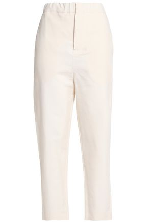 MARNI Cropped woven tapered pants