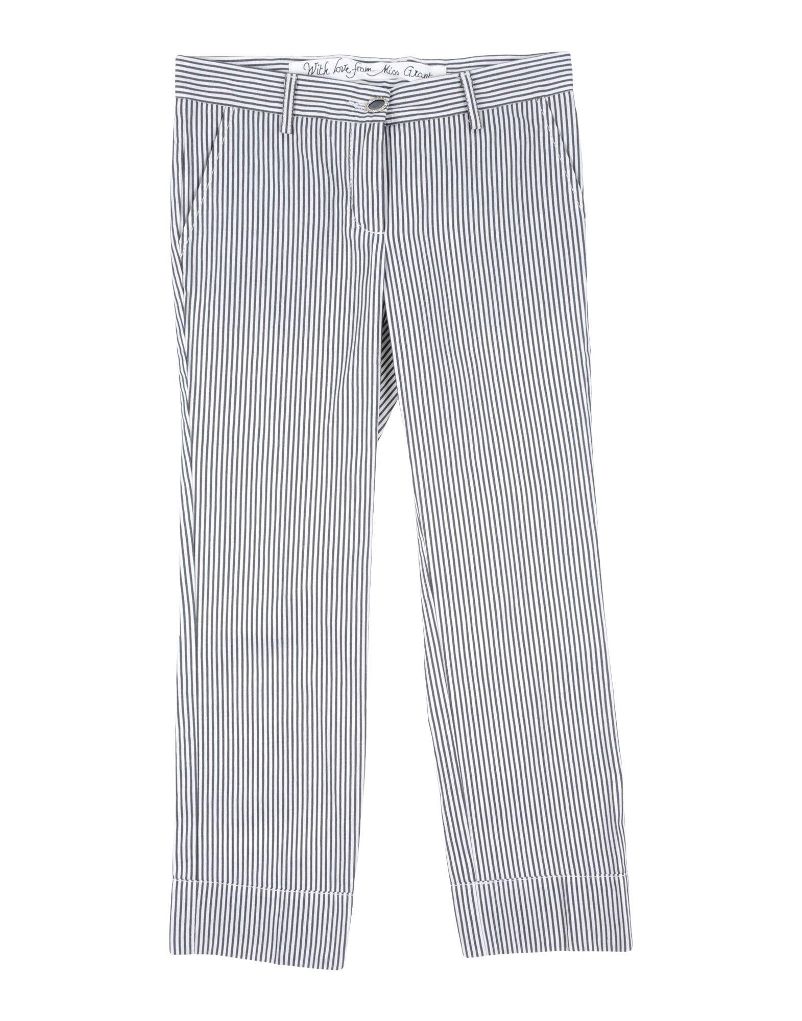 MISS GRANT Повседневные брюки miss grant топ miss grant 2756 6861 белый голубой