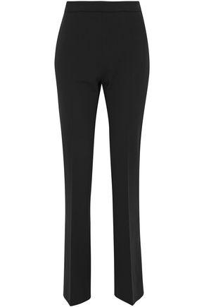 MAX MARA Anemone wool-blend crepe straight-leg pants