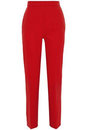 MAX MARA Anemone wool-blend straight-leg pants