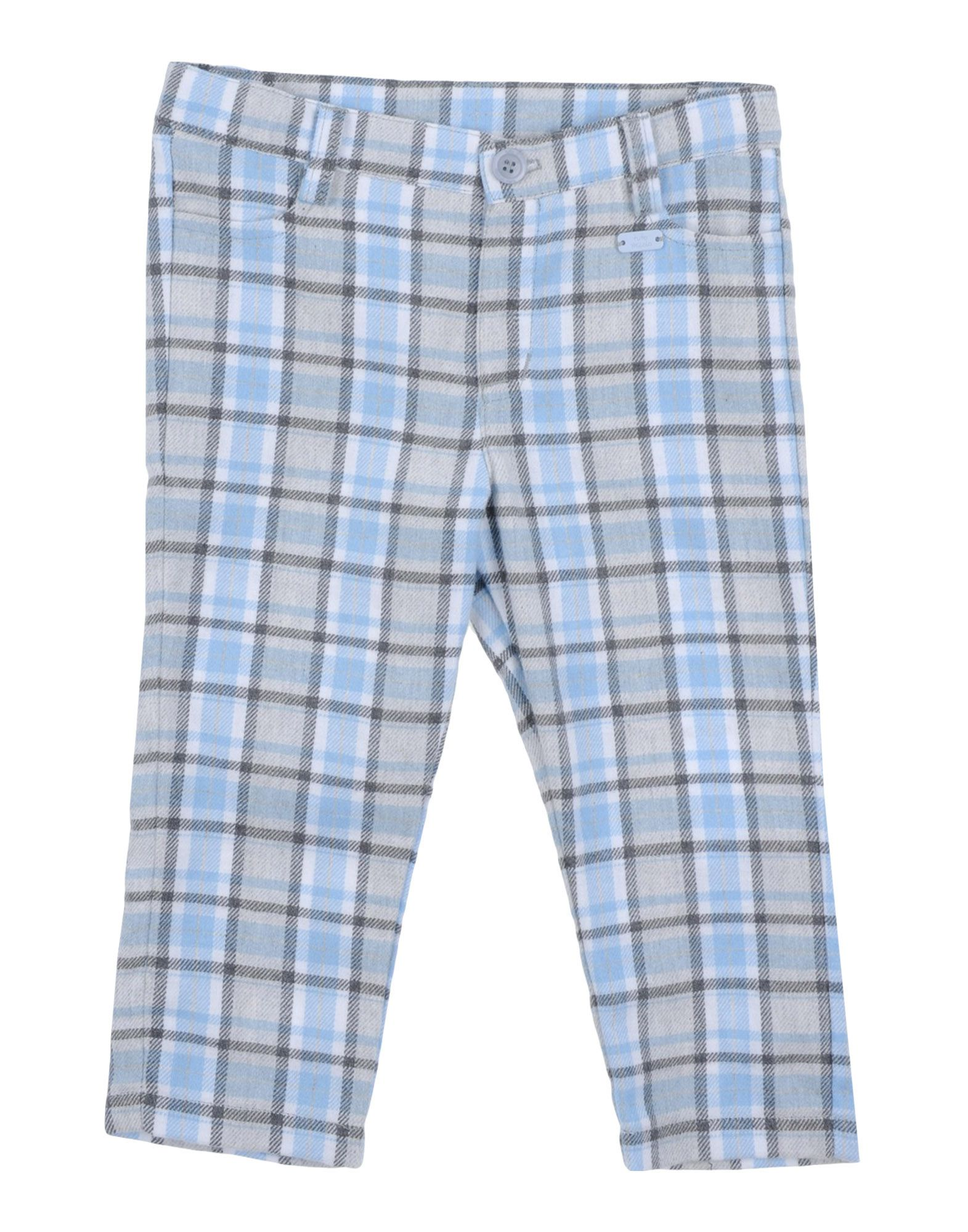 Tutto Piccolo Kids' Casual Pants In Gray